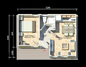 Amastris 37 m2